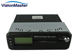 High Resolution 8 Channel Dvr , 6 - 36V Wide Voltage Hard Disk 3G Mobile DVR For Vehicle