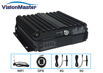Mobile Digital Video Recorder 4 Channel Vehicle Mobile Dvr With GPS