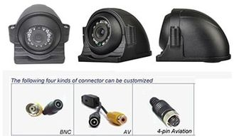Wireless Reverse Vehicle CCTV Camera System Digital For Bus 15m IR Distance