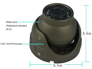 3.6mm In Car CCTV Camera System , IR Lens Audio Mini Security Camera System