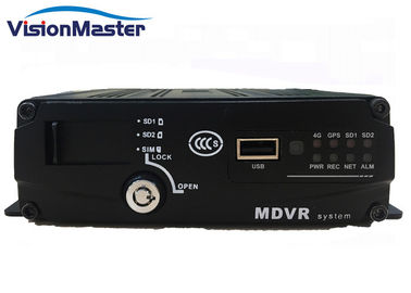 China 4G Automotive Dvr Recorder , 4ch Vehicle Dvr Wifi Android With 1 Years Warranty factory